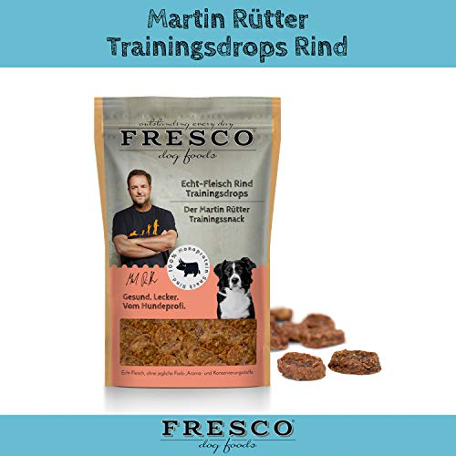 Fresco Dog Martin Rütter Trainingsdrops Rind 150g