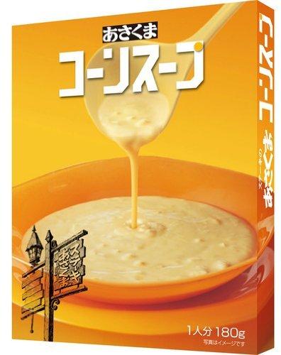 あさくま コーンスープ (180g) × 5個