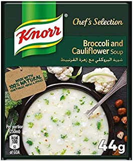 Knorr Packet Soup Broccoli & Cauliflower - 44 gm (Pack of 12)