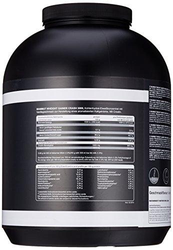 Mammut Weight Gainer Crash 5000, Kohlenhydrate Masseaufbau Kreatin, Vanille , 4.5 kg, 1er Pack - 2