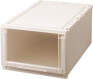 天馬 収納ボックス 衣類用 フィッツユニットケース 押入れ用 カプチーノ 幅44×奥行74×高さ30cm L4430