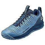 YONEX Men's Eclipsion 3 Clay Court Tennis Shoe, Mist Blue (US Size 11)