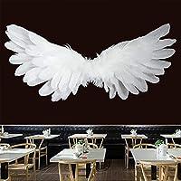 掛かる布背景布デジタル印刷三次元翼タペストリー寝室ダイニングルーム装飾壁装材
