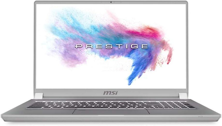 MSI NB P75 9SF-290 Creator 17,3 W10P I9 9880H,32G4,512GB SSD*2,GTX1050TI 4GDDR5