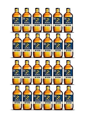 Aguila cerveza especial sin filtrar pack 24 botellas 33cl - 7920 ml