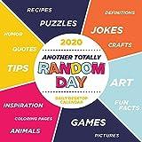 2020 Another Random Day Daily Desktop Calendar