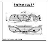JZ Bayliner 205 BR Swim Platform Pad Boat EVA Teak Decking 1/4' 6mm (New Light Brown)