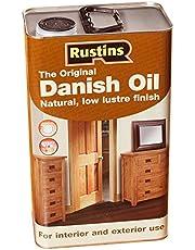Rustins Original - Aceite de teca para madera de exteriores (varios tamaños: 250 ml, 500ml, 2,5 L y 5 L)