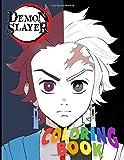 Demon Slayer Coloring Book: Kimetsu no Yaiba Anime Colorin Book, teenagers and kids high quality coloring book  8.5x11