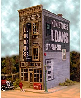 HO KIT Laser-Cut Honest Joe's Pawn & Loan