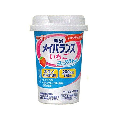 明治メイバランスMiniカップ いちごヨーグルト味 (125ml×12本)×2箱