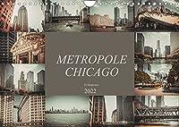 Metropole Chicago (Wandkalender 2022 DIN A4 quer): Der Fotograf Dirk Meutzner nimmt Sie mit auf eine Reise durch die Metropole Chicago (Monatskalender, 14 Seiten )