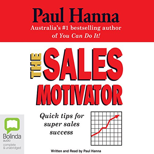 The Sales Motivator audiobook cover art