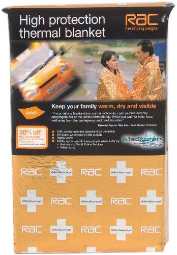 RAC Mediwrap Thermodecke mit Dreifachschutz