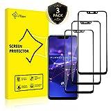 GiiYoon-3 Piezas Protector de Pantalla para Huawei Mate 20 Lite Cristal Templado,[Sin Burbujas] [Cobertura Completa] [9H Dureza] Vidrio Templado HD Protector Pantalla para...