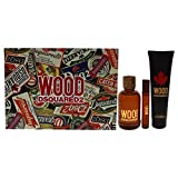 Dsquared2 Wood for Men 3 Pc Gift Set
