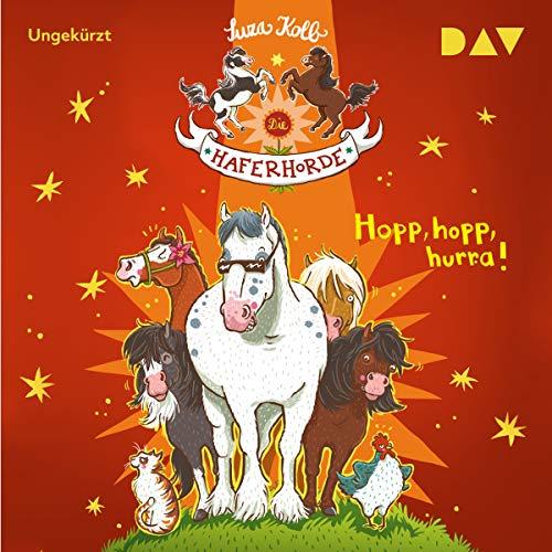 Hopp hopp, hurra! audiobook cover art