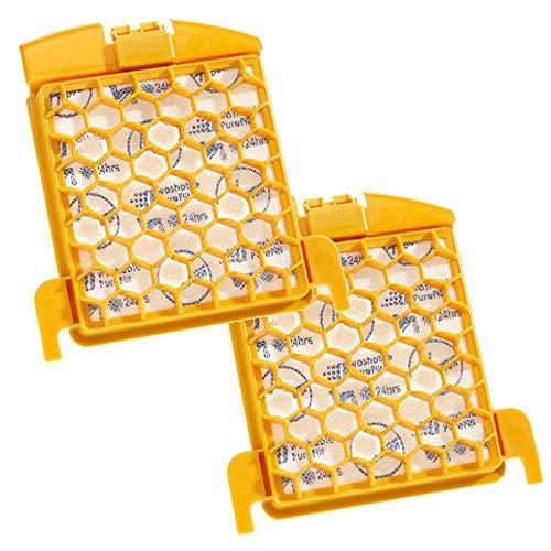 SPARES2GO Lot de 2 filtres pré-moteur S86 Purefilt pour Hoover Freespace Evo Pets TFS5193 TFS520 TFS5207