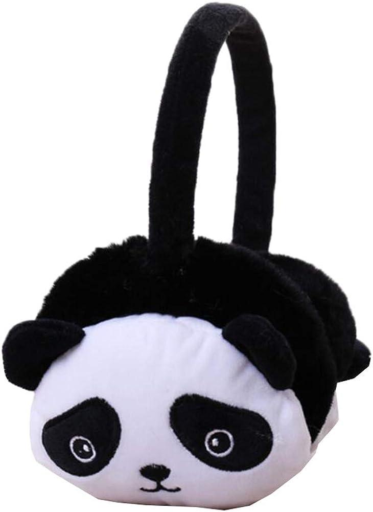 Cute Animal Soft Earmuffs Winter Warm Outdoor Ear Covers Headband Fur Ear warmer,#C17