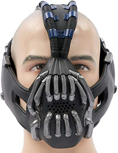 XXF Bane mask Destroyer Mask Batman Movie Character The Dark Knight Rises Cosplay Costume Accessories.