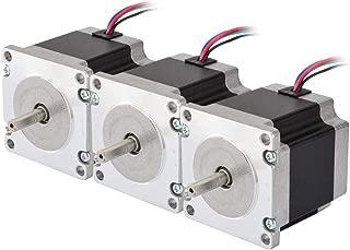 STEPPERONLINE 3PCS Nema 23 CNC Stepper Motor 2.8A 179oz.in 56mm Bipolar for Hobby CNC Kit