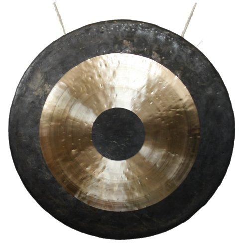 Original Tam Tam Gong/Whood Chau Gong 80 cm, toller Klang, inklusiv Holz-/ Baumwollklöppel -7024-