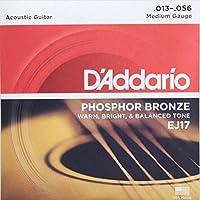 D'Addario EJ17/Phosphor Bronze/medium×5SET アコースティックギター弦