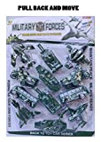 ★ Fun Blast set of Vehicles Toy with functions: Pull Push Forward/ Backward ★ This Toy have extra grip high quality tire can crawl easily with friction power unbreakable material. ★ Full functions forward /backward/ stop. Set of Four Army Super Cars ...