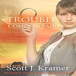 Trouble Comes in Pairs audiobook cover art