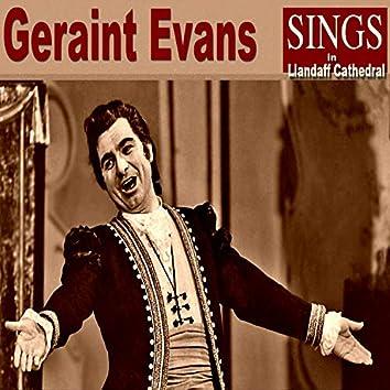 Geraint Evans Sings in Llandaff Cathedral