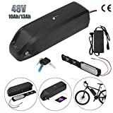 Batterie Velo électrique 48V, 10Ah/13Ah Batterie e-Bike Li-ION Batterie Hailong, avec Port USB +...