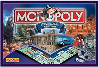 Winning Moves Games Birmingham Monopoly Board Game