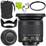 Nikon AF-P DX NIKKOR 10-20mm f/4.5-5.6G VR Lens Advanced Bundle