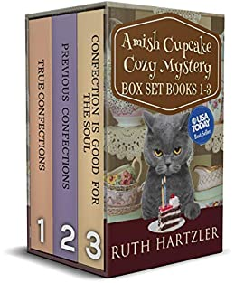 An Amish Cupcake Cozy Mystery Three Book Box Set (Amish Cupcake Cozy Mystery Series Boxset 1) by [Ruth Hartzler]