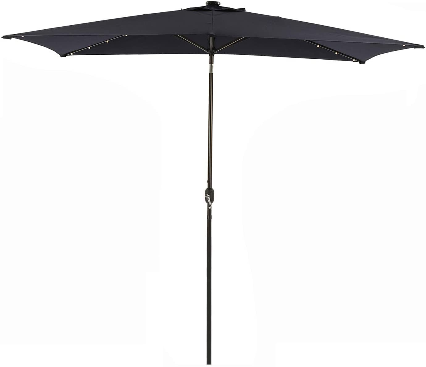 MISSBRELLA 10 x 6.5ft Patio Ranking TOP6 Outdoor Max 85% OFF Rectangular Umbrell Umbrella