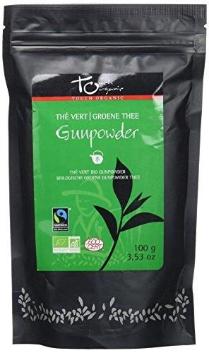Touch Organic Thé Vert Gunpowder Vrac Bio 100 G TC437