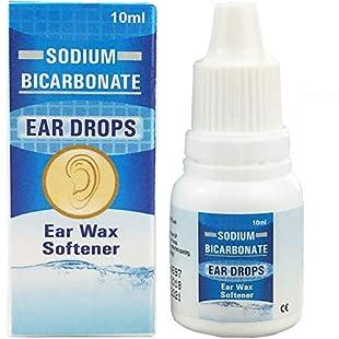 JFA Medical Ear Wax Remover Sodium Bicarbonate Drops 10 ml - Pack of 3
