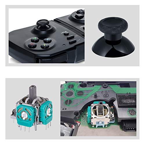 RGEEK T6 T8 T10 Screwdriver Repair Kit for Xbox one Controller - Include 4pcs 3D Analog Joystick Thumbstick for Xbox One Controller + 4 Thumbstick Caps
