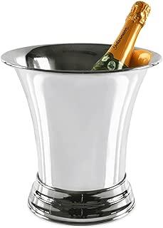 43 cm diametro refrigeratore 10,5 litri cooler champagne Edzard conchiglia cadiz