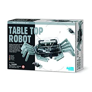 4M 5576 Table Top Robot - DIY Robotics Stem Toys, Engineering Edge Detector Gift for Kids & Teens, Boys & Girls (Packaging May Vary) - 51Fb7szB EL - 4M 5576 Table Top Robot – DIY Robotics Stem Toys, Engineering Edge Detector Gift for Kids & Teens, Boys & Girls…