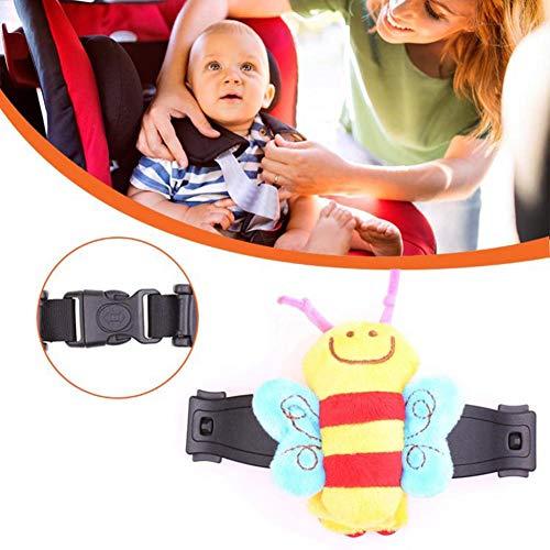 Correa Fija para la Cabeza de los ni/ños cintur/ón de Seguridad Ajustable para el Coche para beb/és Asiento de Seguridad VEVICE