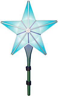 BlissLights Shining Star Christmas Tree Topper - Multicolored LED Light Show Decoration, Indoor Holiday Projector Lighting