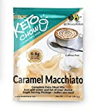 Keto Chow   Keto Meal Replacement Shake   Nutritionally Complete   Low Carb   Delicious Easy Meal Substitute   You Choose The Fat   Caramel Macchiato (Caramel Macchiato, 1 Serving)