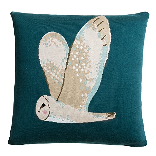 Sophie Allport Owl Knitted Statement Cushion