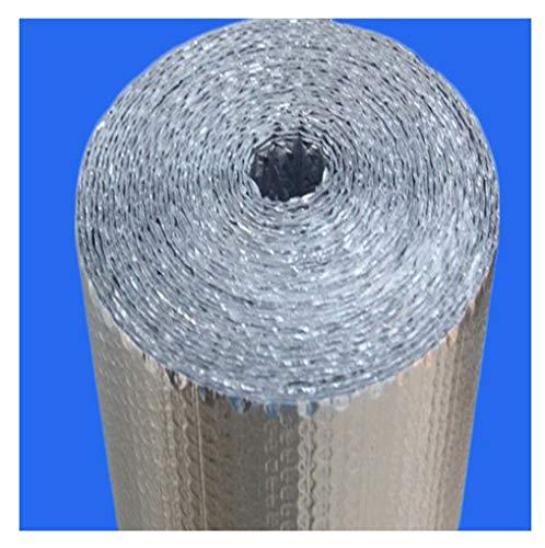 RSH Autoadhesivo Aislamiento Termico Aluminio Reflexivo para Techo, Pared Y Fachada Aluminio Aislante con Burbujas Papel De Burbujas De Aluminio, Doble Aislamiento, Suelo Loft Pared (Size : 1