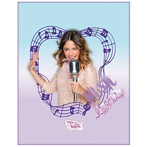 CTI 042113 Fleece Decke Disney Violetta Music, 110 x 140 cm
