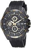 Casio Edifice Analog Black Dial Men's Watch - EFR-556PB-1AVUDF (EX385)