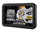 BumpTEK Plate Pocket (Classic Edition) - The Thickest, Toughest, All Rubber Front Bumper Guard, Front Bumper Protection, License Plate Frame. Flexible Rubber Cushions Parking Bumps!