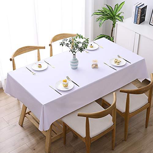 NOBCE Mantel Simple Y Personalizado PVC Impresión Digital Impermeable Y A Prueba De Polvo Mantel Rectangular Reutilizable Mantel Multiusos 100x160cm