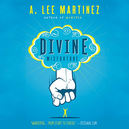 Divine Misfortune audiobook cover art
